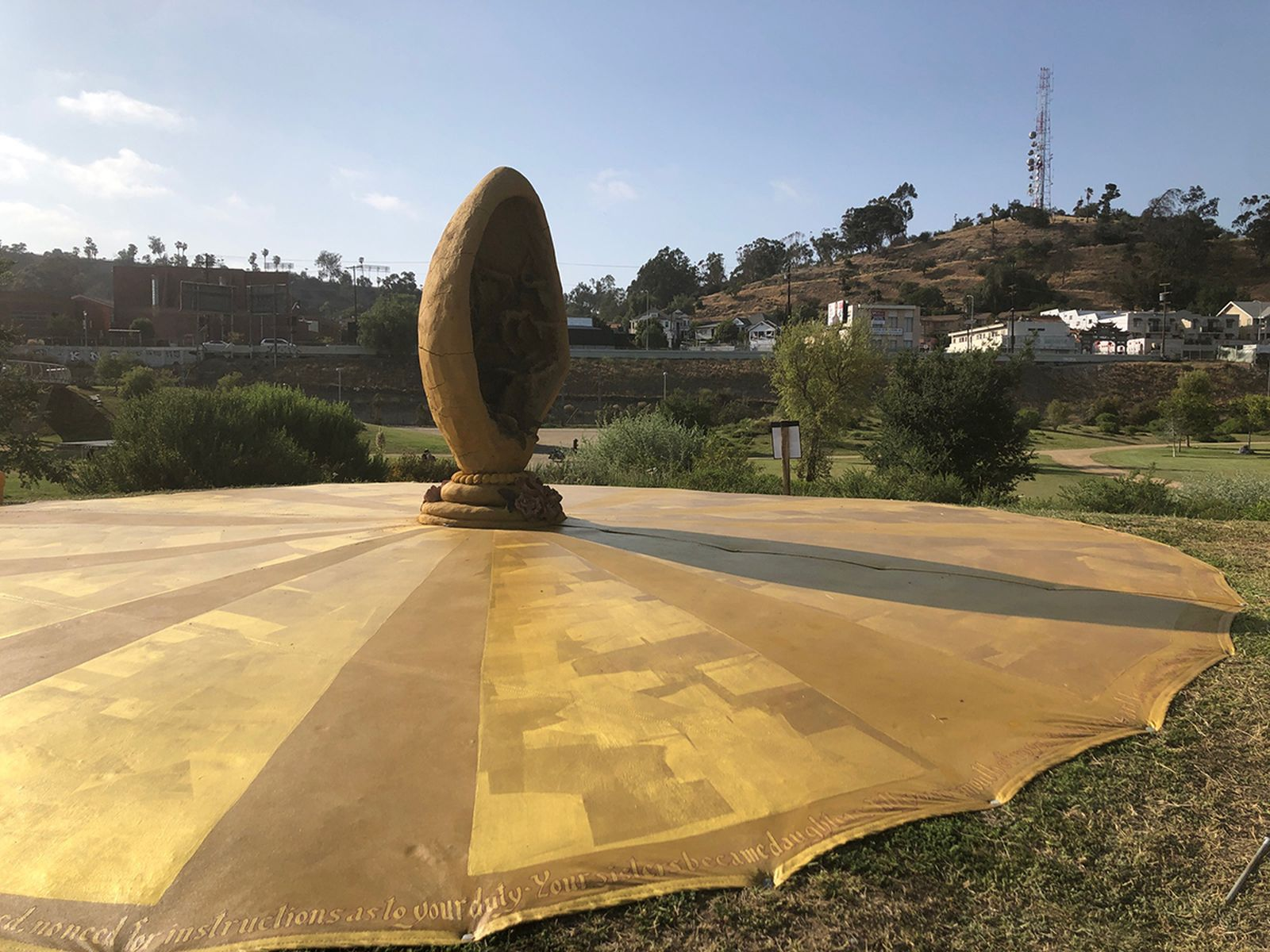 Their Body Became (an Antenna Transmitting the Message of God)at LA State Historic Park  •  2021