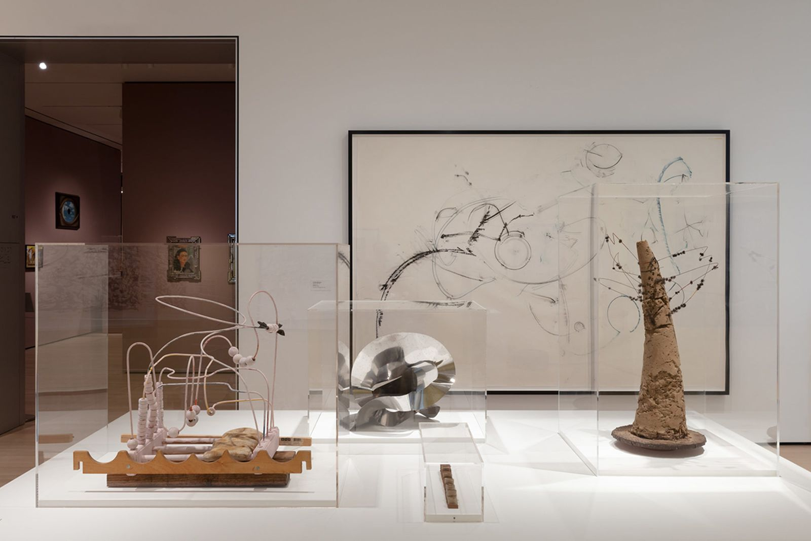 Installation view of Artist's Choice: Yto Barrada—A Raft, May 8, 2021–January 9, 2022 at The Museum of Modern Art, MoMA New York.  •
